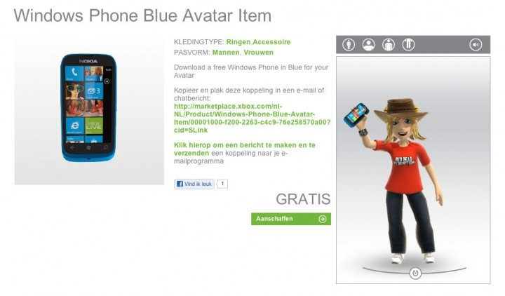 windowsphone avatar