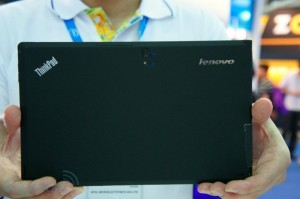 Lenovo presenta il suo tablet ThinkPad con Windows 8