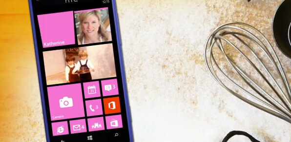 windows phone in cucina