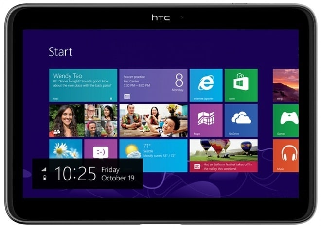htc tablet windows