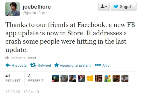 joe belfiore facebook