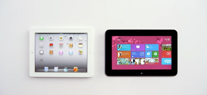 iPad vs Dell XPS 10