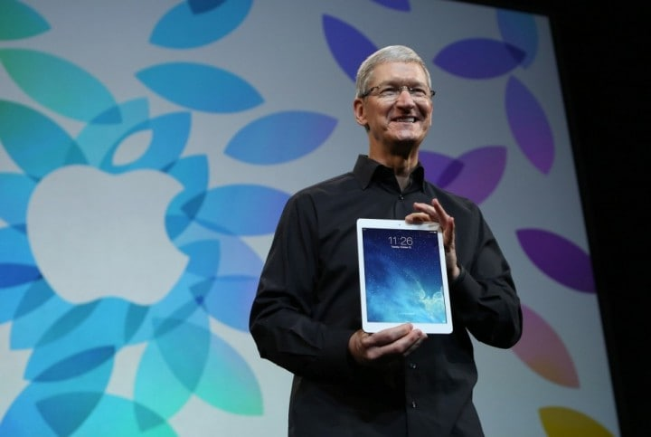 ipad-air Tim cook