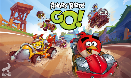 Angry Birds Go! per Windows Phone introduce il multiplayer a squadre