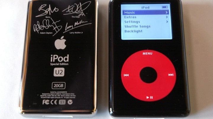 Apple iPod U2 vendita ebay