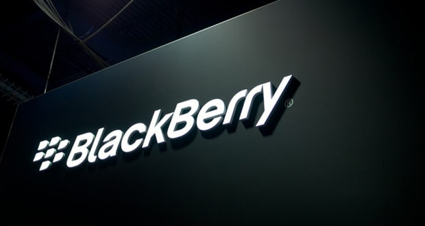 BlackBerry logo nero