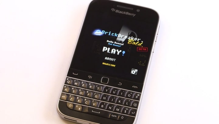 Brick Breaker BlackBerry Classic