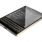 BlackBerry Passport oro
