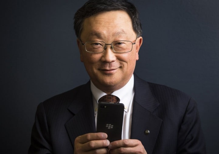 John Chen, CEO di BlackBerry, in passato si era schierato contro Tim Cook nella vicenda Apple vs FBI
