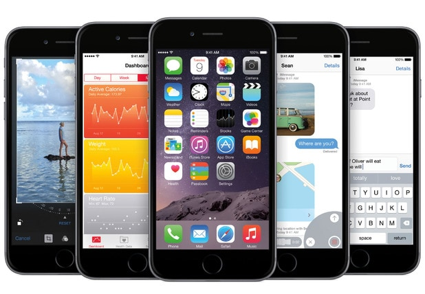 iPhone iOS8