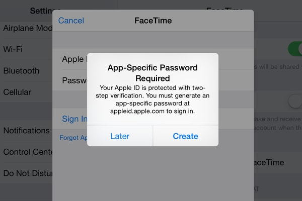 Apple verifica in due passaggi
