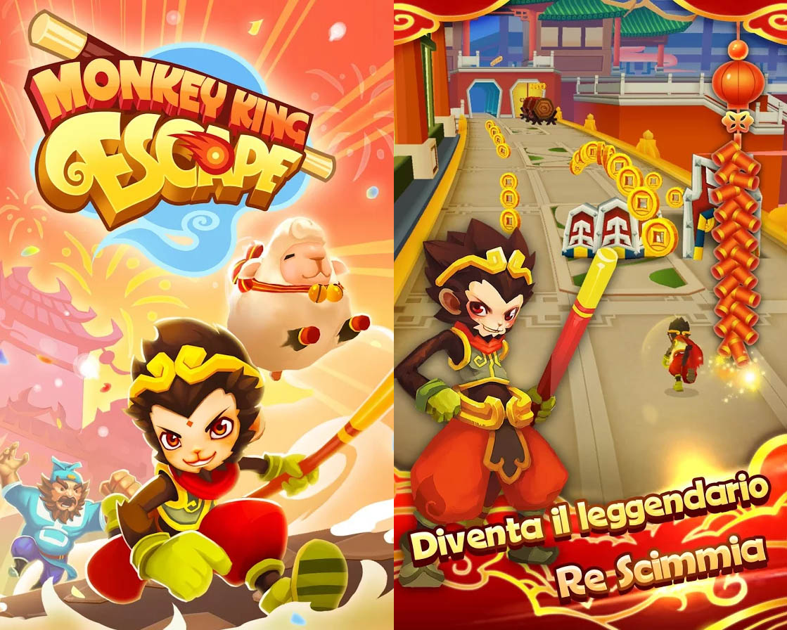 Monkey King Escape Copertina