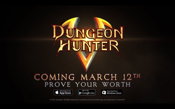 Dungeon Hunter 5 trailer uscita