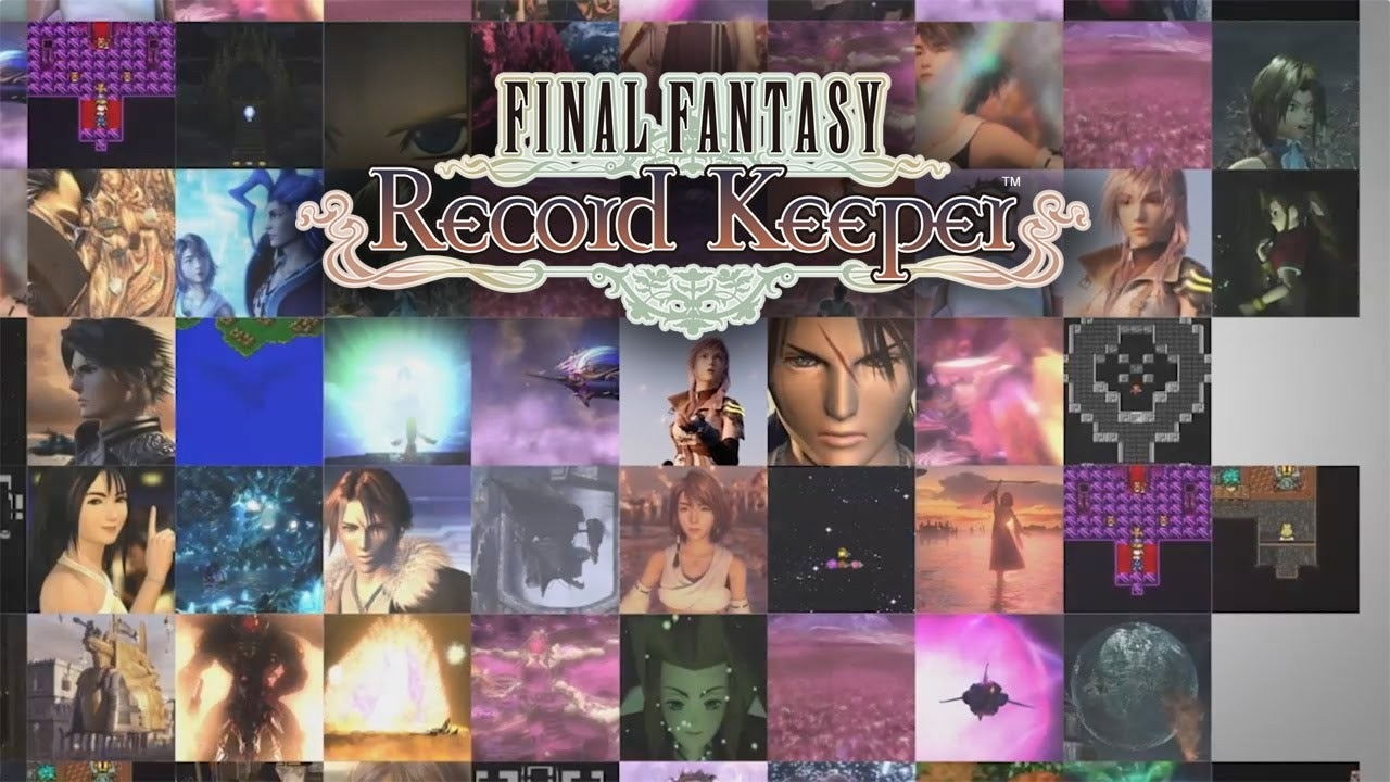 FINAL FANTASY Record Keeper Copertina