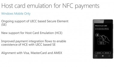 Host Card Emulation Pagamenti NFC Windows 10