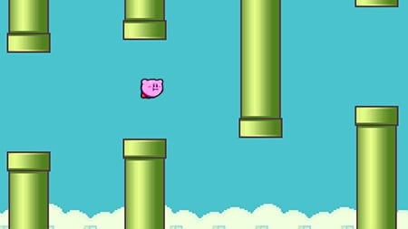 Kirby Flappy Bird