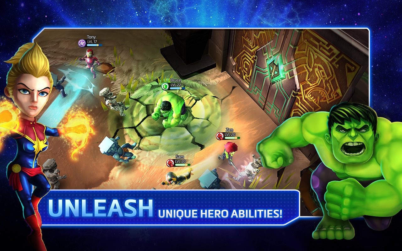 Marvel Mighty Heroes - 1