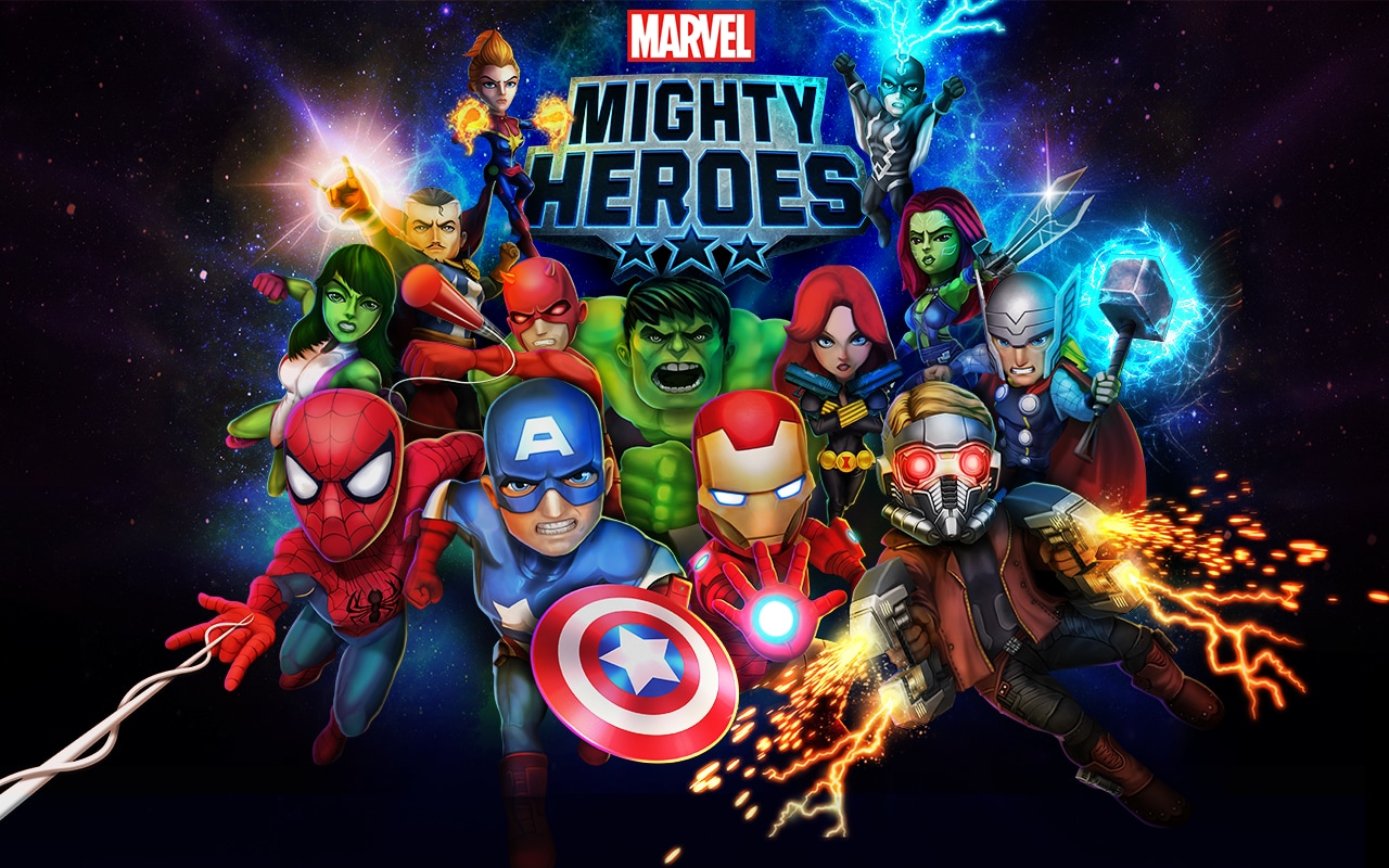 Marvel Mighty Heroes Copertina