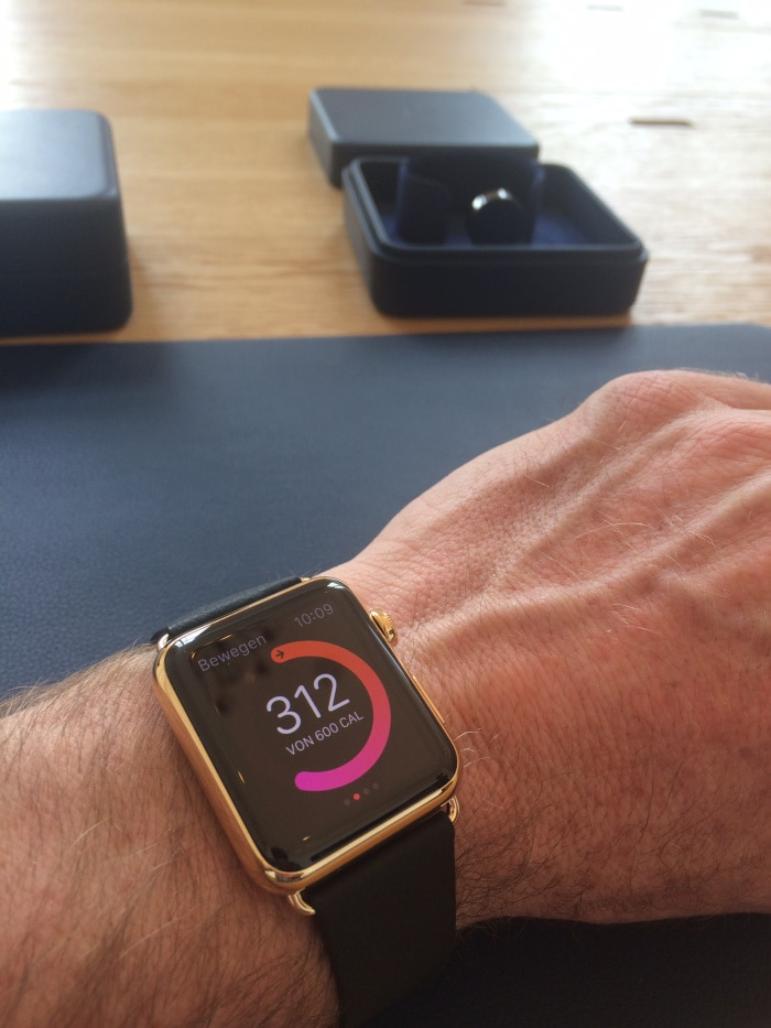 Apple Watch Edition Hands on 1