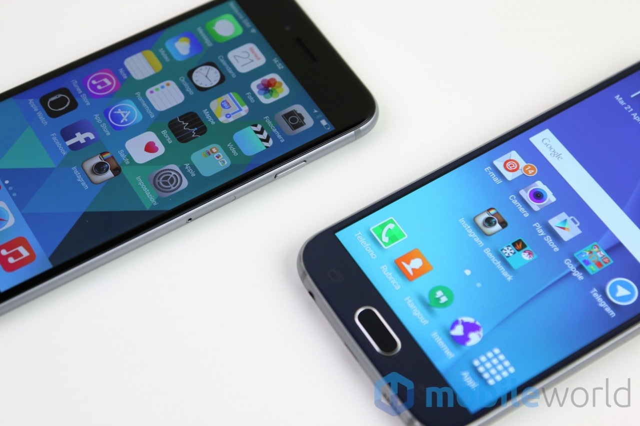 Confronto iPhone 6 - Galaxy S6  - 5