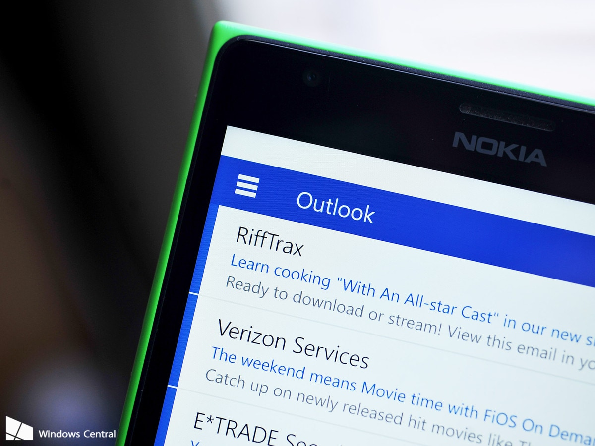 Hamburger Menu Windows Phone