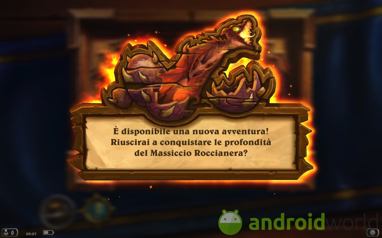 Hearthstone Massiccio Roccianera Sample - 1