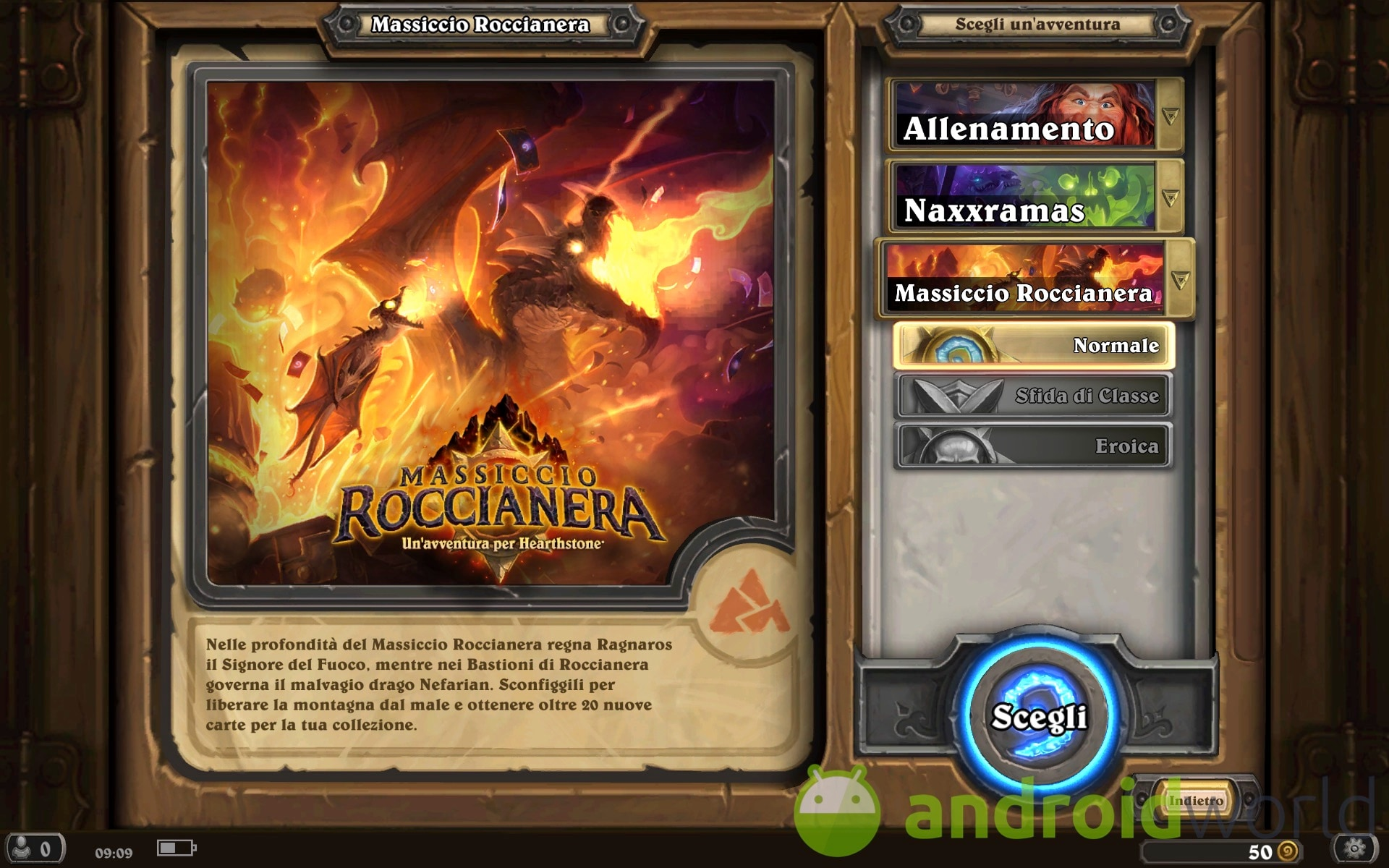 Hearthstone Massiccio Roccianera Sample – 4