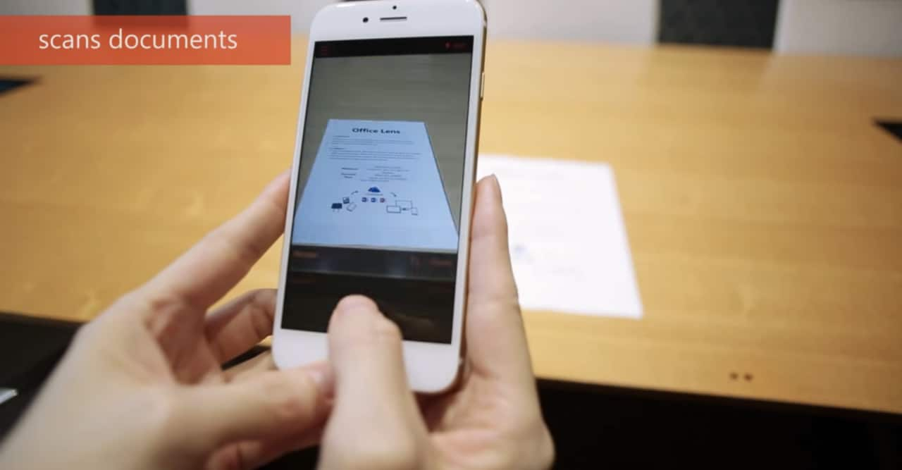 Microsoft trasforma Android e iPhone in scanner con Office Lens (video)