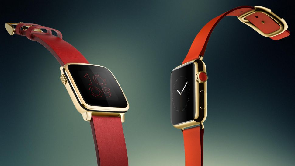 Pebble Time Apple Watch