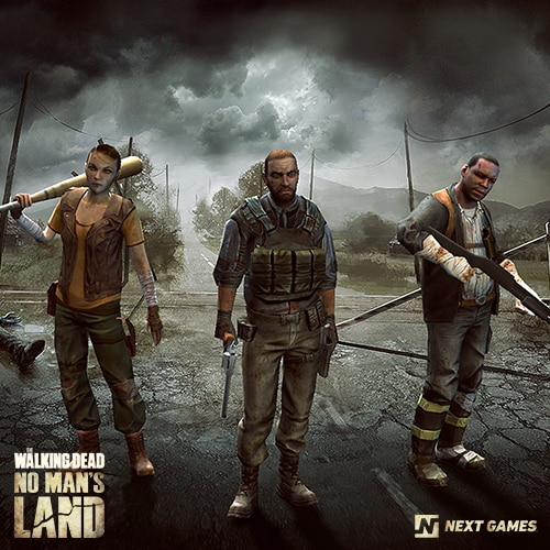 The Walking Dead No Man's Land - 1