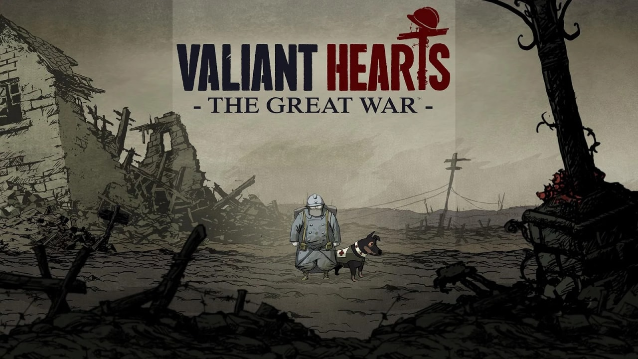 Valiant Hearts The Great War Copertina