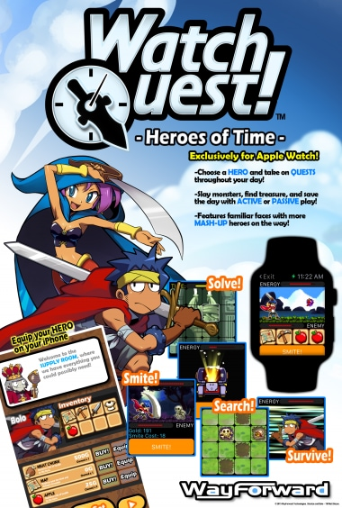 Watch Quest Apple Watch WayForward