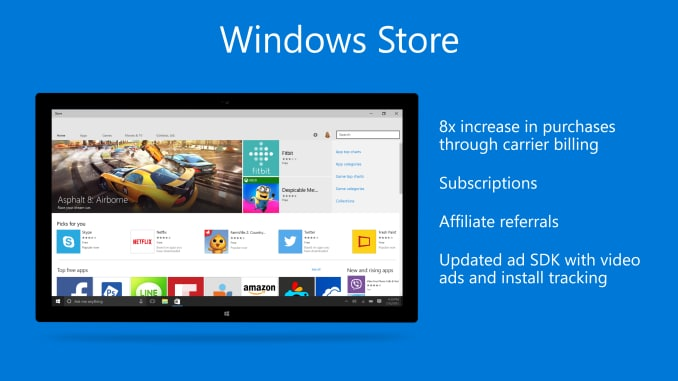 Windows Store Build 2015