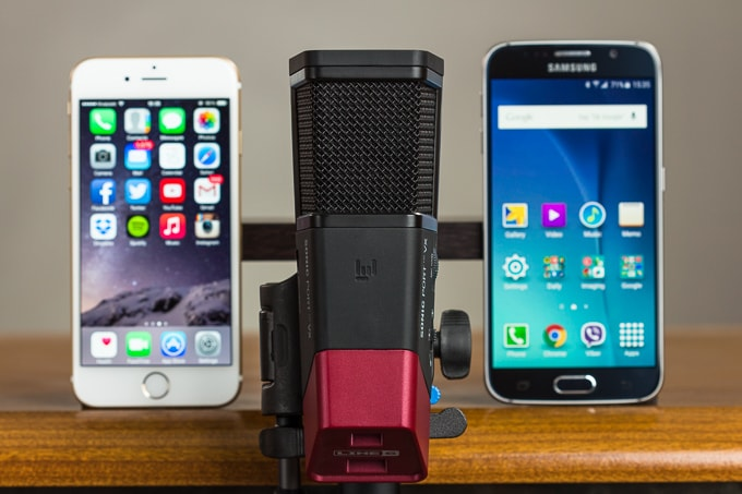 Galaxy S6 vs iPhone 6 speaker