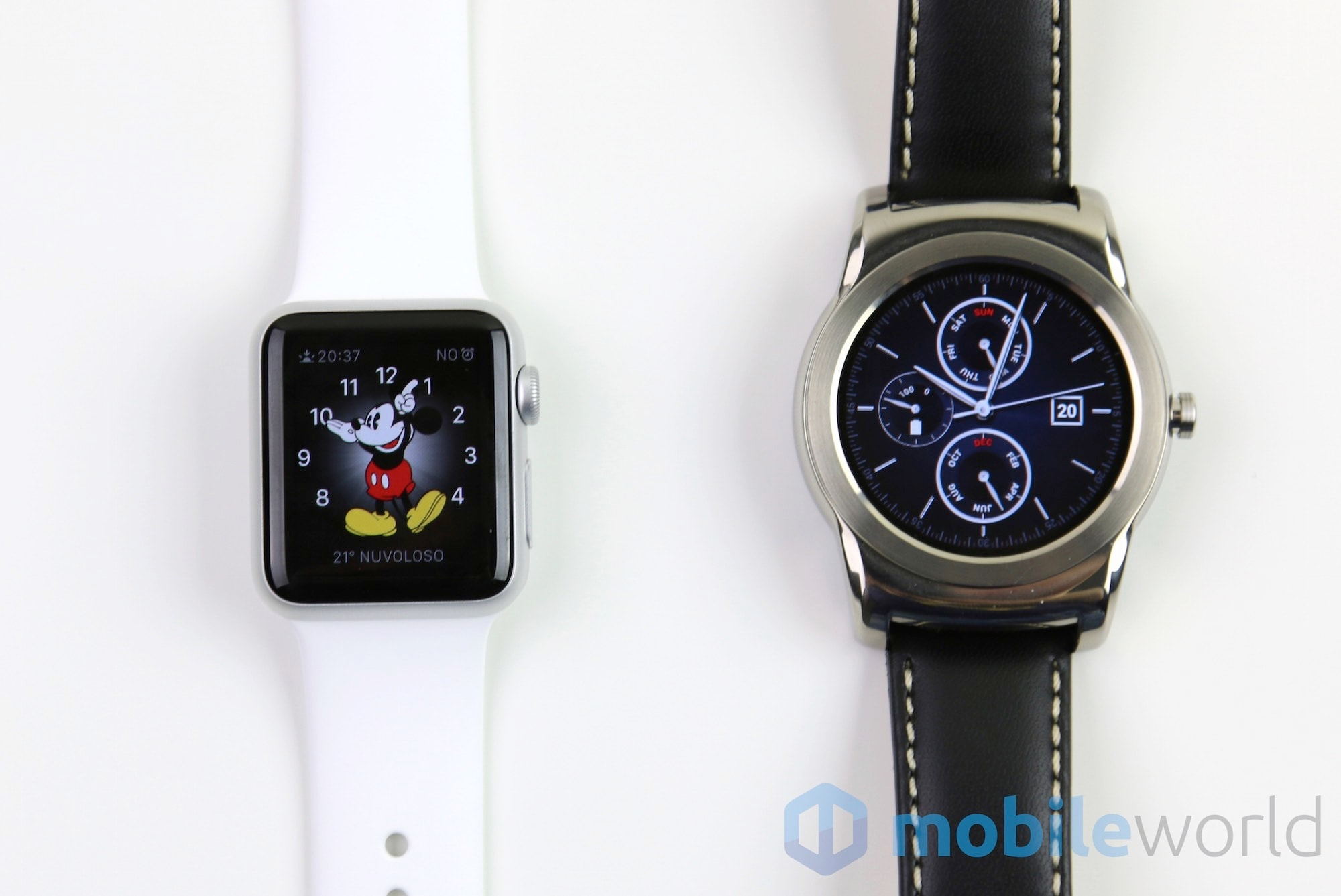 Android Wear vs Watch OS  – 2