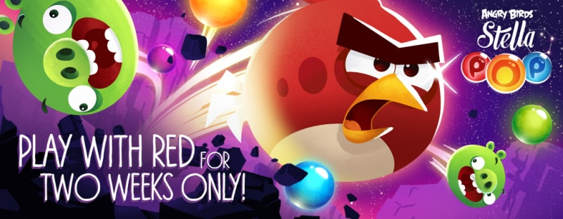 Angry Birds Stella Pop Red