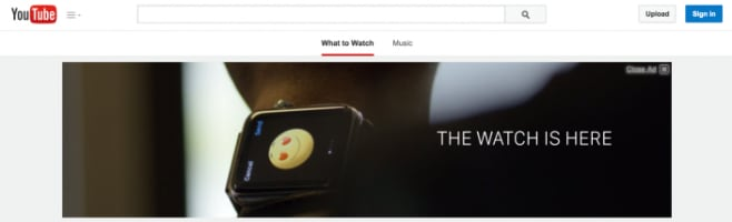 Apple Watch YouTube