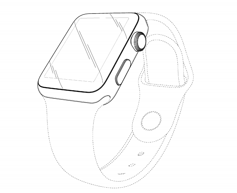 Apple Watch design brevetto
