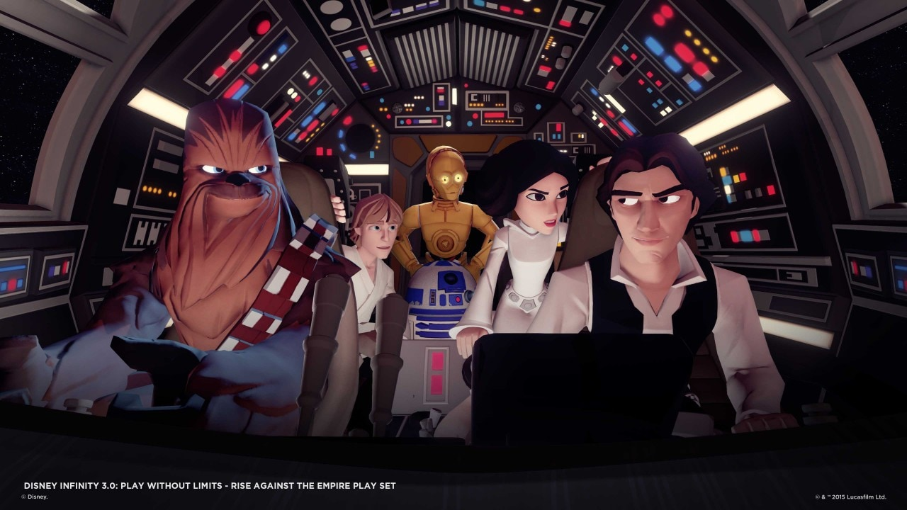 Disney Infinity 3.0 Toy Box disponibile per Android!