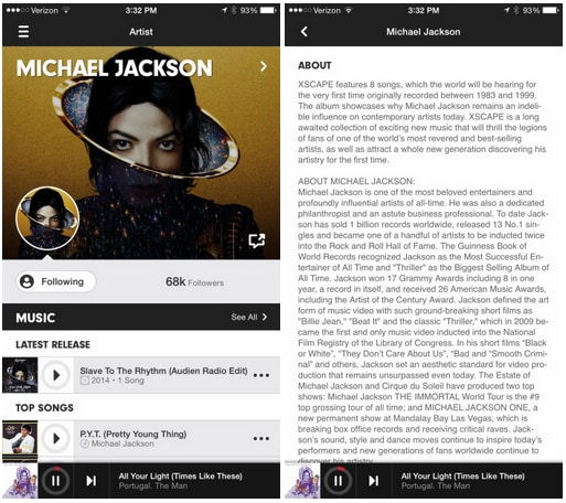 Jackson Apple Music