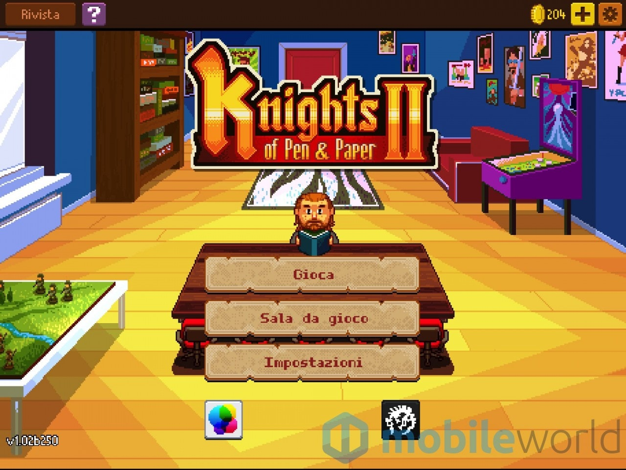 Knights of Pen & Paper 2 Copertina