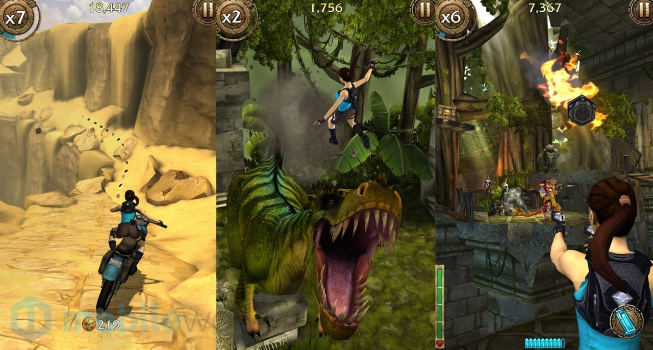 Lara Croft: Relic Run disponibile per Android, iOS e Windows Phone (foto e video)