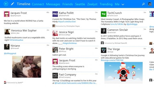 Tweetium Win8 screenshot