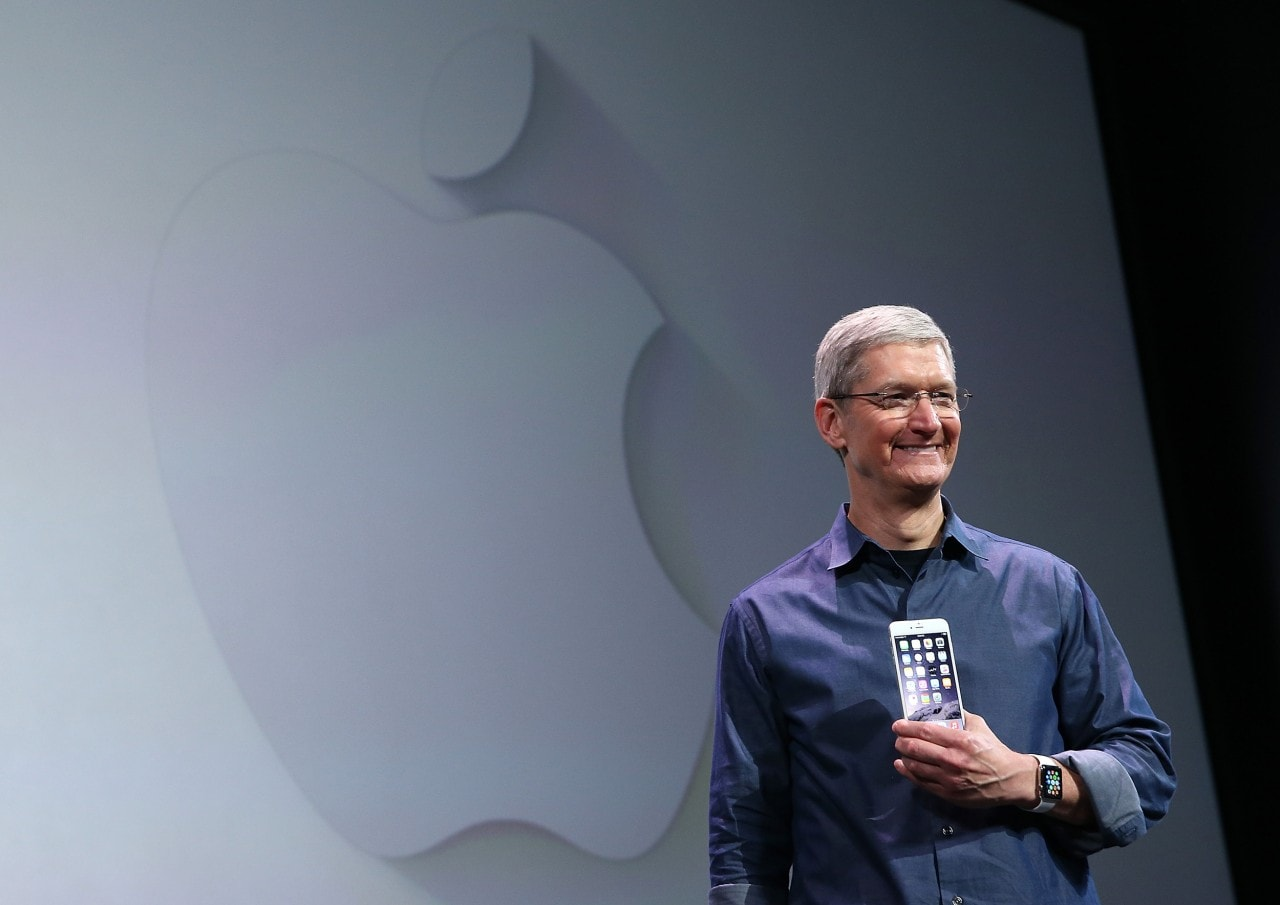 iPhone 6 Tim Cook presentazione Apple Watch