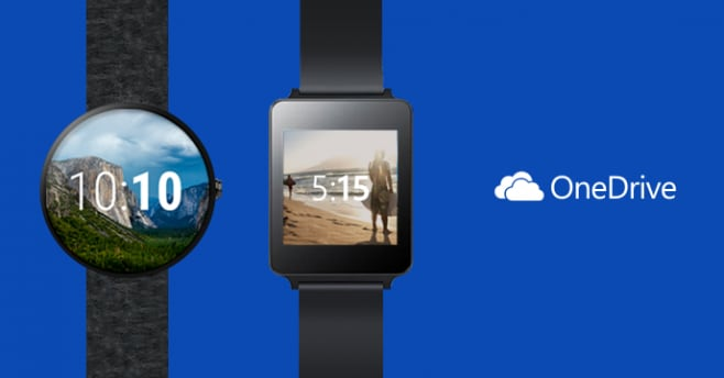 onedrive android wear