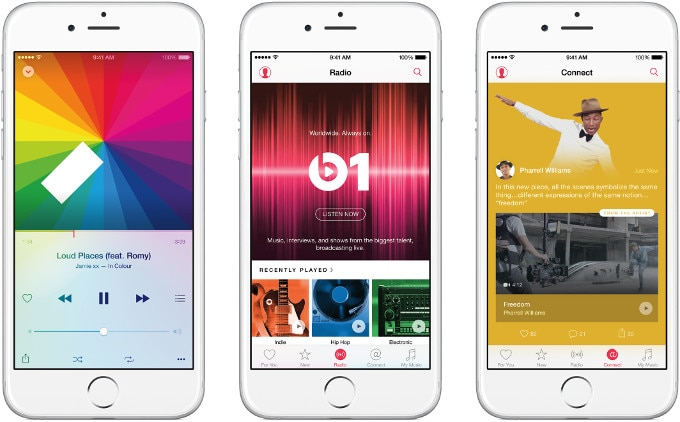 Apple-Music iPhone