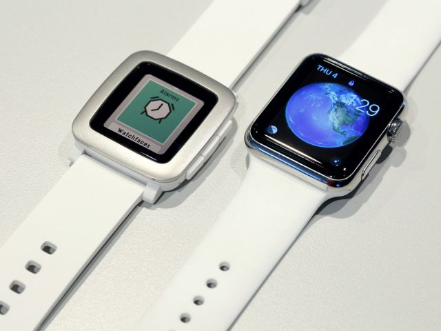 Apple Watch Pebble Time