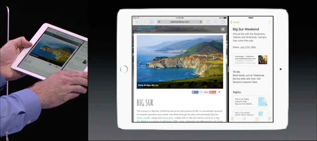 Apple iPad iOS 9