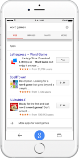 Google Search iOS App Giochi