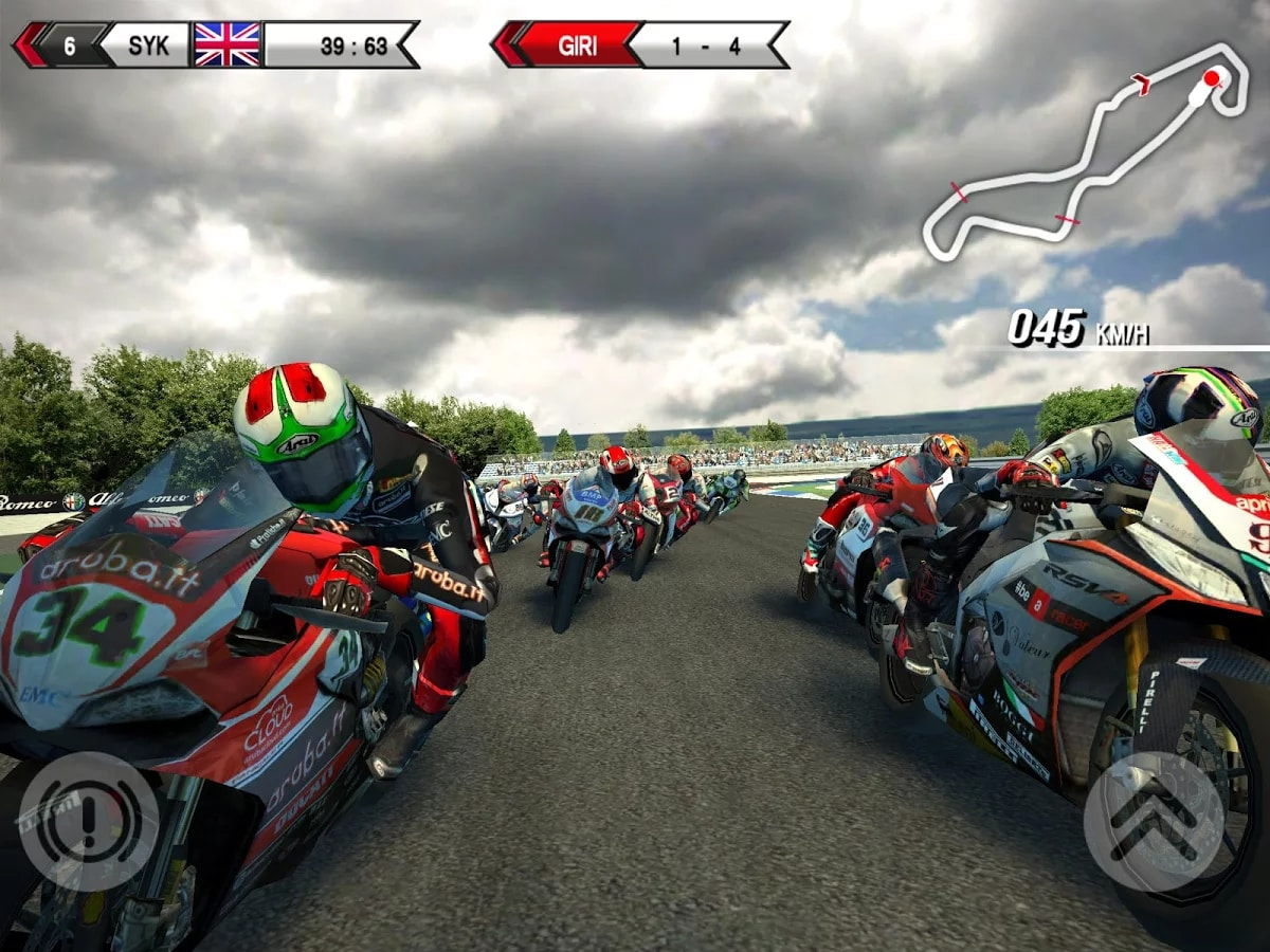 SBK15 Official Mobile Game - 1